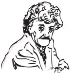 Kurt Vonnegut Drawing