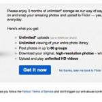 Flickr Pro Free for 3 Months
