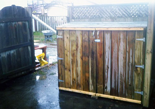 Here a How to build a shed out of scrap wood | Shed plans ...