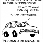 Windows Estimated Wait Times