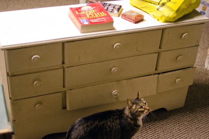 ugly old dresser