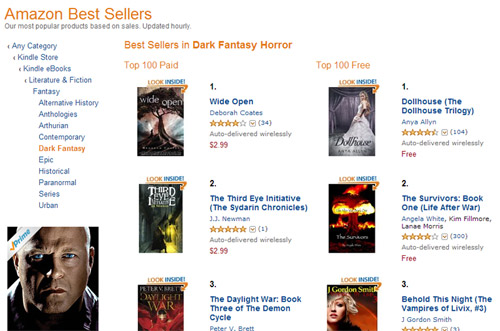 #2 Bestseller in Dark Fantasy Horror