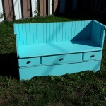 Wow! Old Dresser to DIY Vintage Bench Pinned 2000 times!