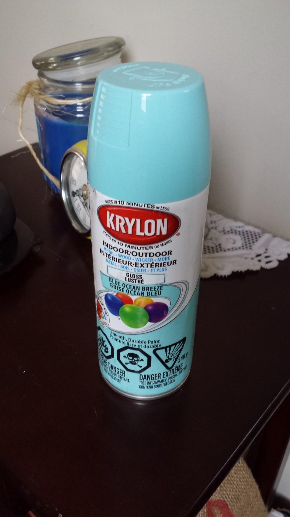 Krylon Indoor/Outdoor Blue Ocean Breeze
