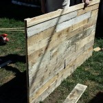 Throwback Monday: DIY Pallet Headboard