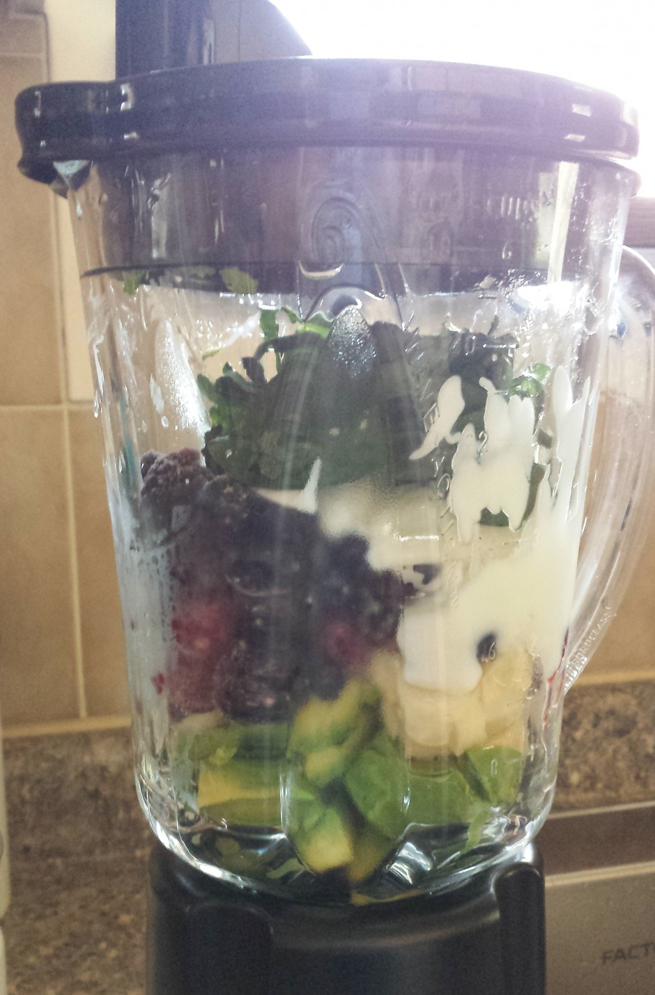 smoothie in a blender