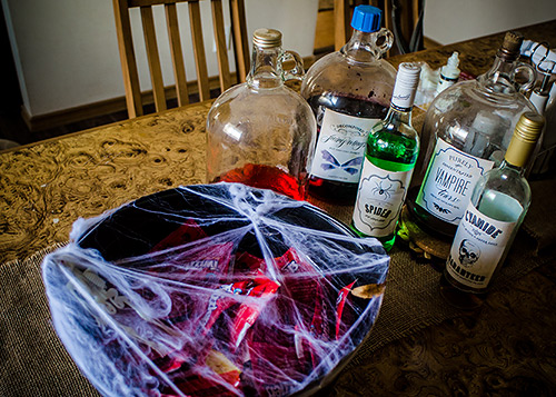 potions and poisons halloween free printables