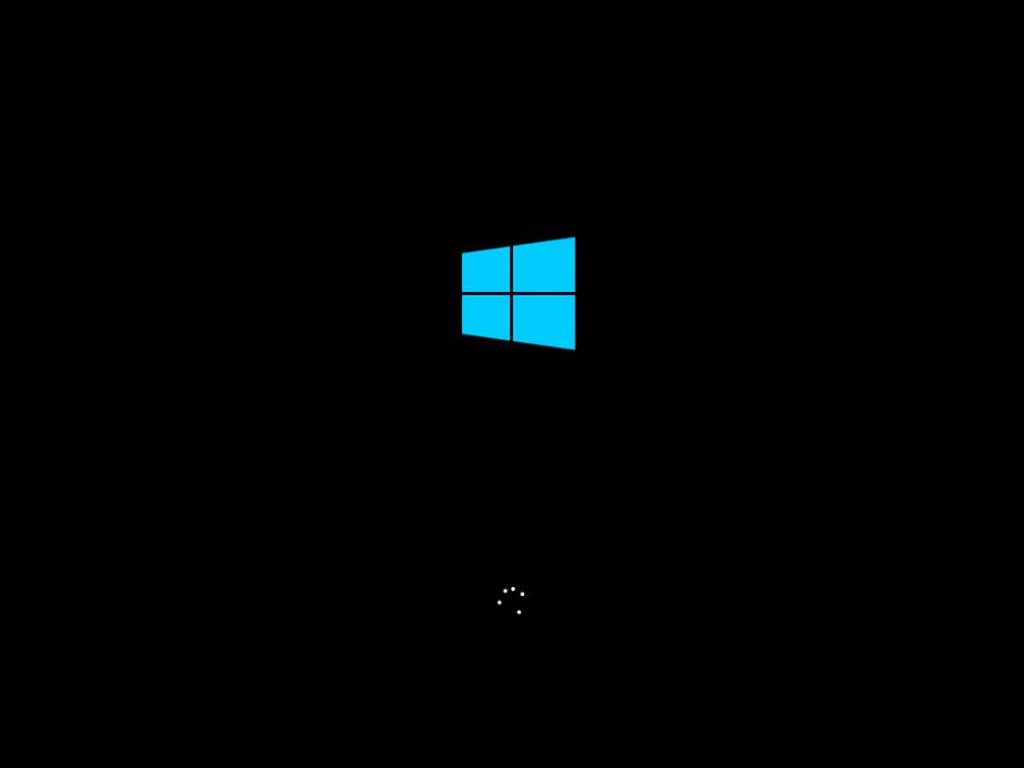 windows 8 boot screen