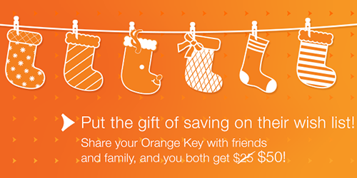 Get $50 when you sign up with ING Direct Canada using my Orange Key!