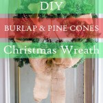 DIY: Christmas wreath in less than 10 minutes