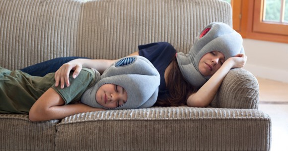 ostrich pillow love
