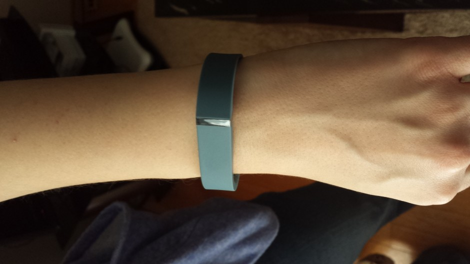 fitbit flex wristband blue