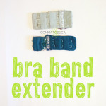 DIY Bra band extender — great for pregnancy!