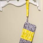 My very first DIY clutch purse!
