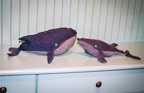 DIY denim whale brothers
