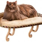 Kitty sill bed for window-dwelling felines
