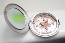 broken makeup compact
