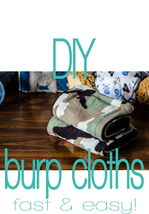 DIY Burp Cloths!