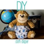 DIY: Make a cloth diaper!