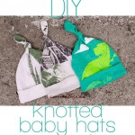 DIY: Easy upcycled knotted baby hats!