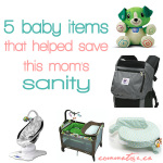 5 Items That Helped Save This Mom's Sanity! -- commatose.ca