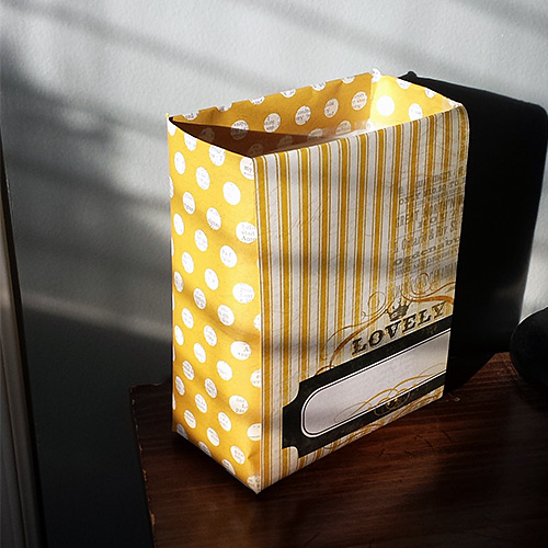 finished! turtles box into cute storage box DIY