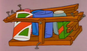 Going to try to do it on my own since it doesn't require woodworking, just stapling. My woodworking skills are akin to the Homer Simpson spice rack seen here.