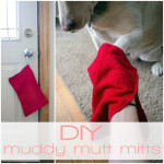 DIY Muddy Mutt Mitts