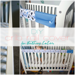 DIY: Crib Rail Cover