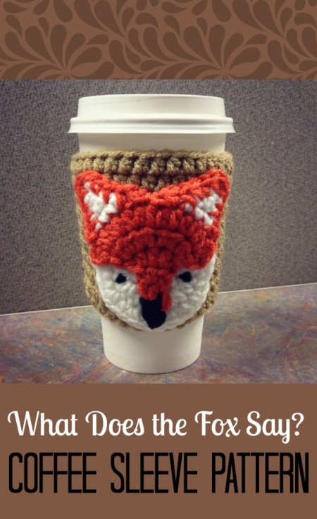 What Does the Fox Say Coffee Sleeve by Jessica Ferrara