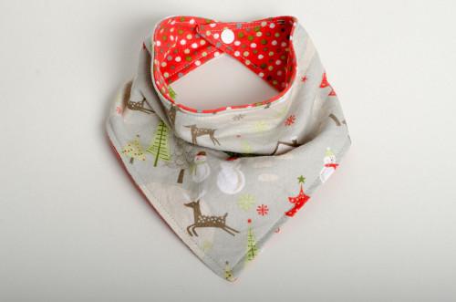 Christmas bibkerchief bandana bib