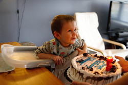 Birthday cake time!
