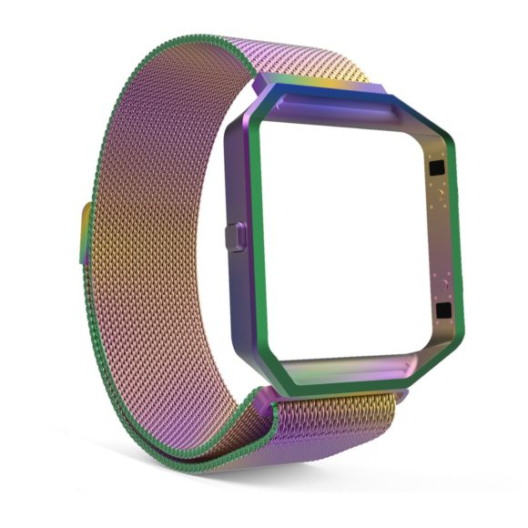 oily rainbow fitbit blaze replacement band