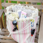 Make a sturdy beach bag for cheap!