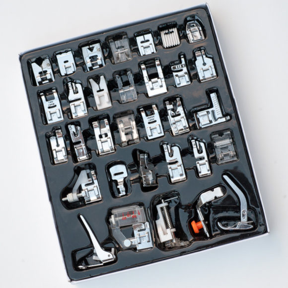 Variety pack of presser feet
