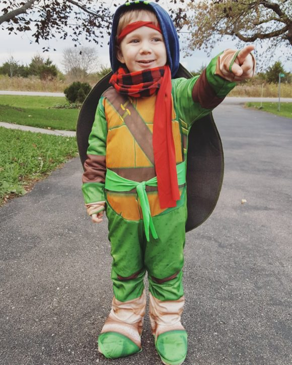 Raph for Halloween