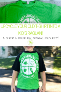 Sew a kid's raglan with this free pattern!